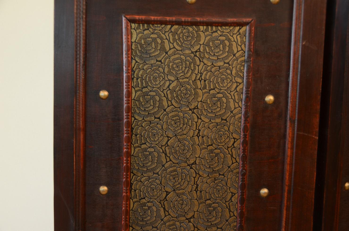 Charleston room divider screen 4 panel wooden frame ebay - Room divider picture frames ...