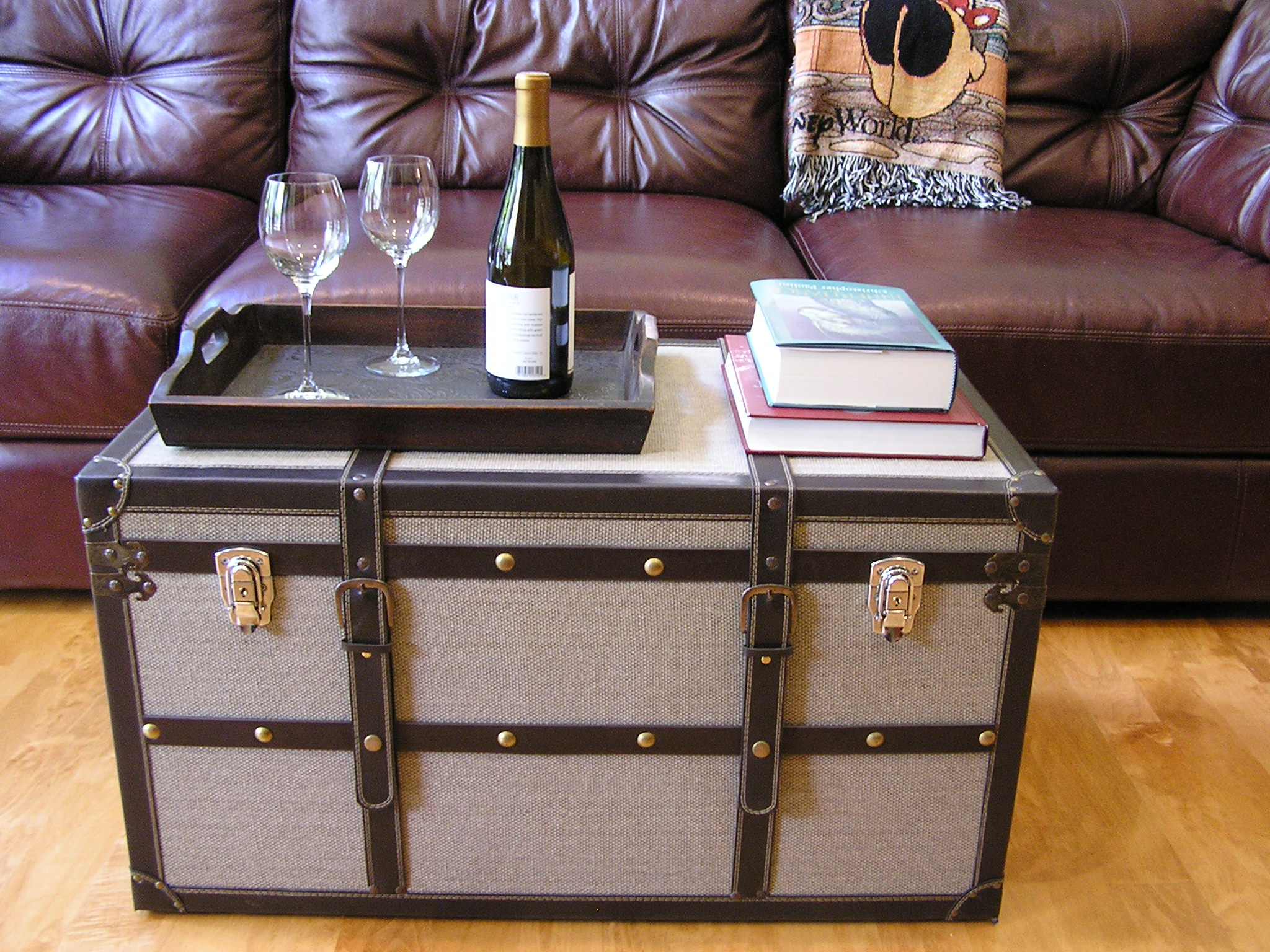 Vienna Steamer Trunk