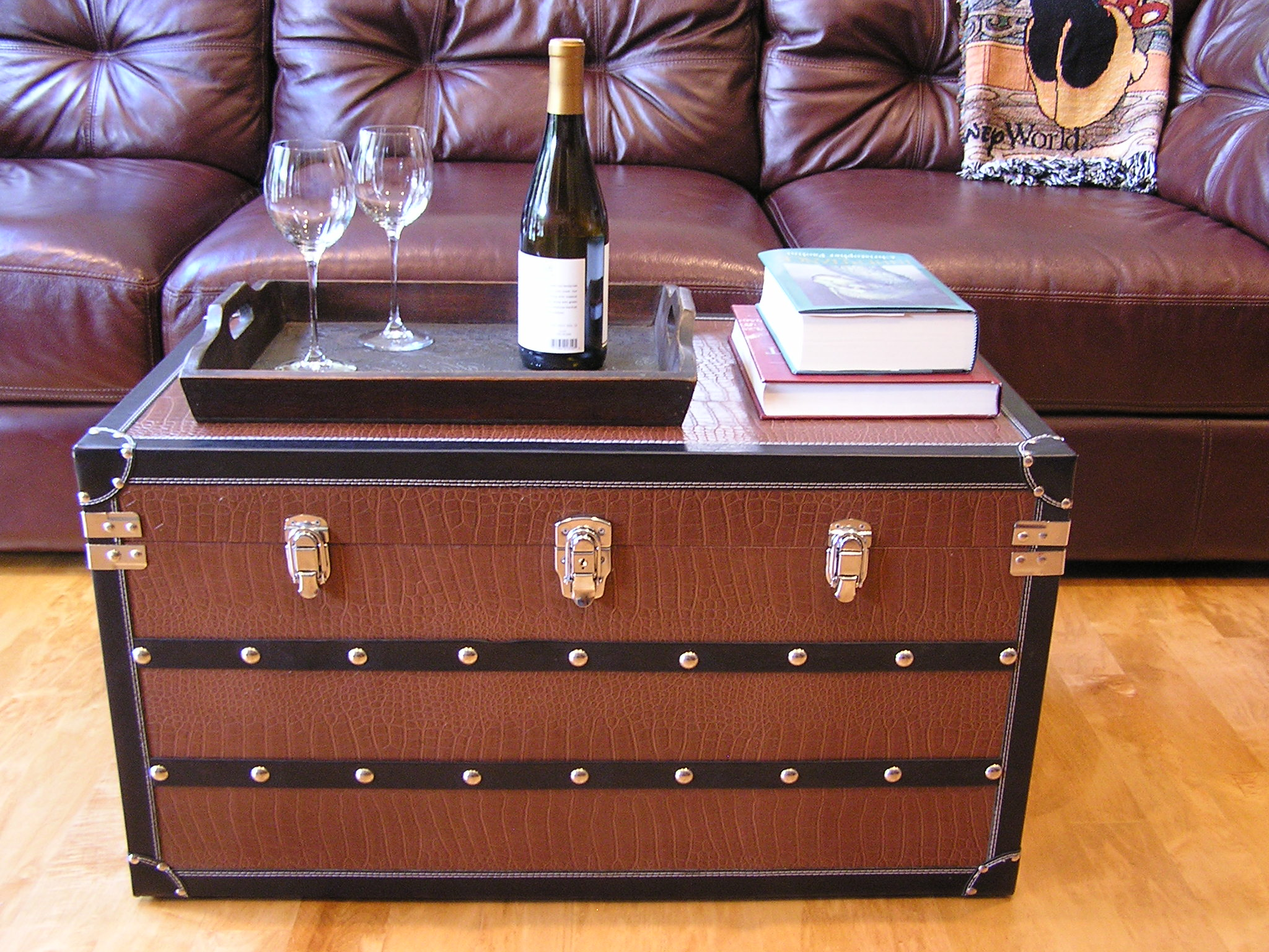 Fairfax Steamer Trunk