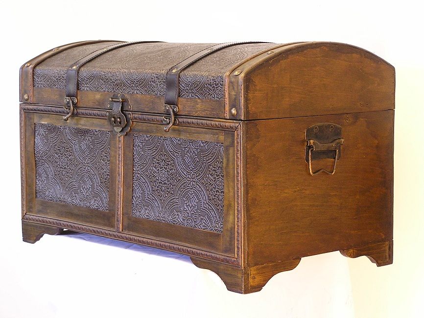 Nostalgic Steamer Trunk
