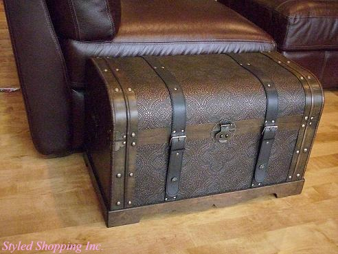 Antique Victorian Trunk