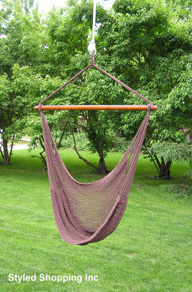 Hammock Swing Brown
