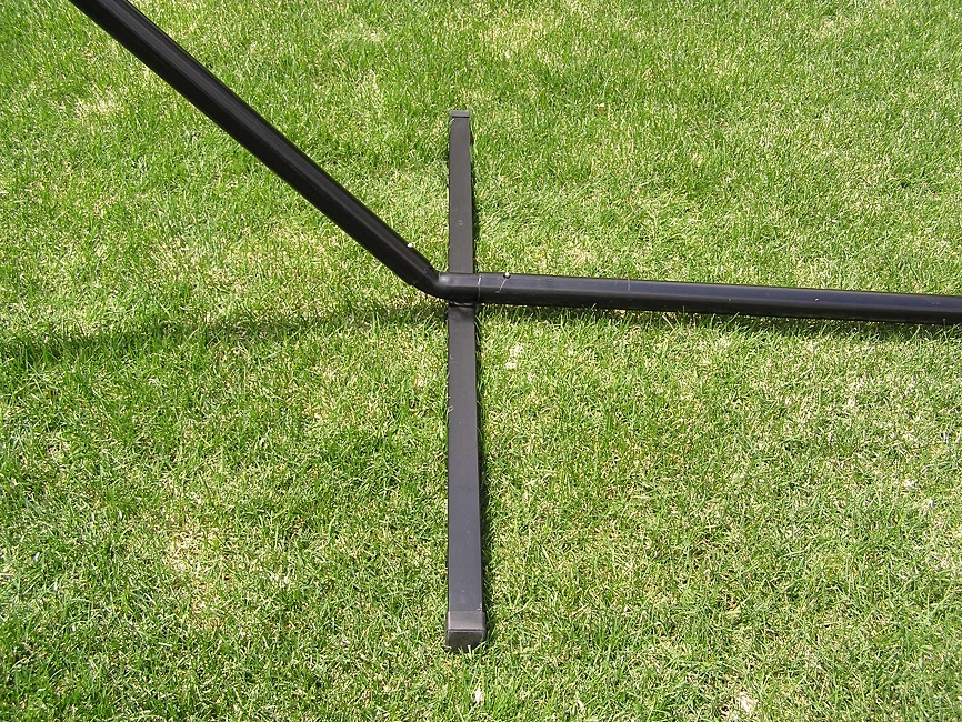 797734470604 deluxe two person 15 foot steel tri beam hammock stand   ebay  rh   ebay