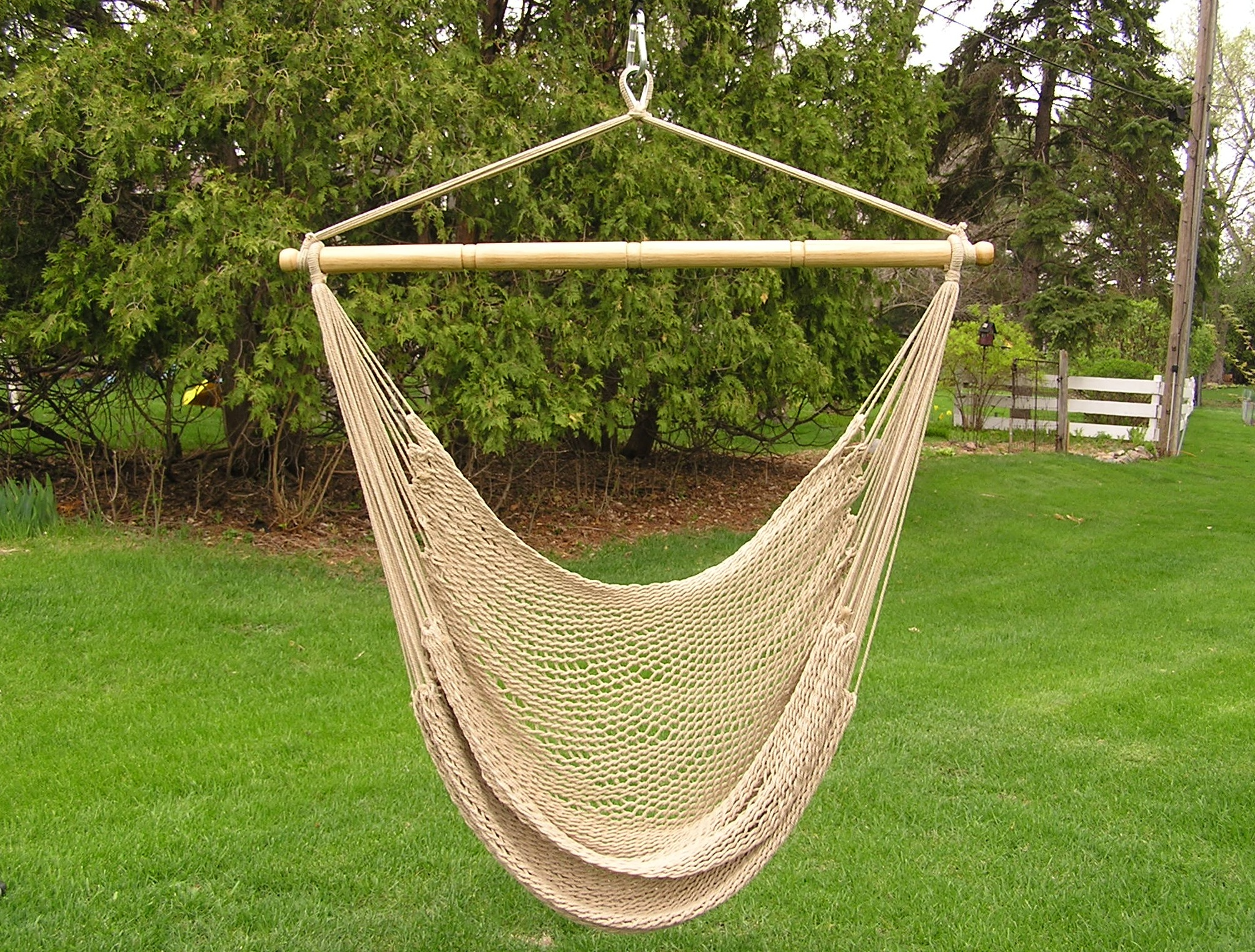 outdoor porch swing cover hanging camp outsunny chair seat living god w armrest footrest hammock