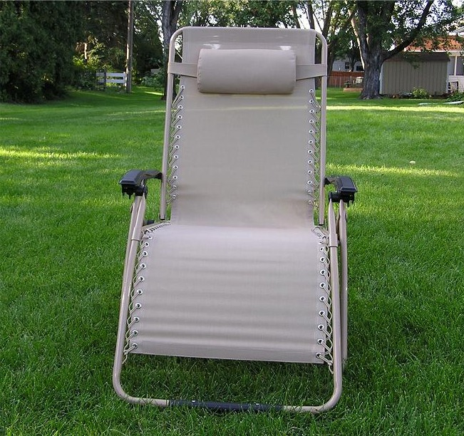 Zero Gravity Chair Tan